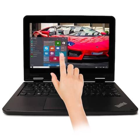 "Lenovo Thinkpad Yoga 11e Laptop 11.6"" Touchscreen Computer 128GB SSD Windows 10"