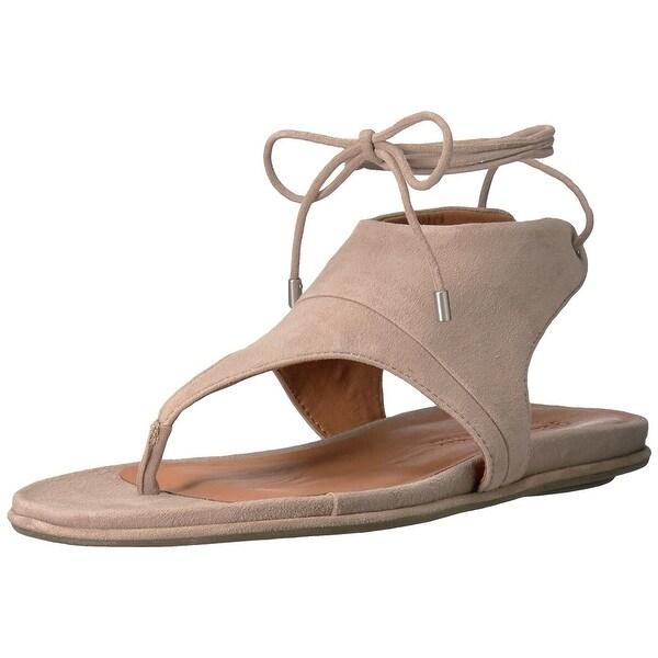 Gentle Souls Womens Olson Open Toe Casual T-Strap Sandals