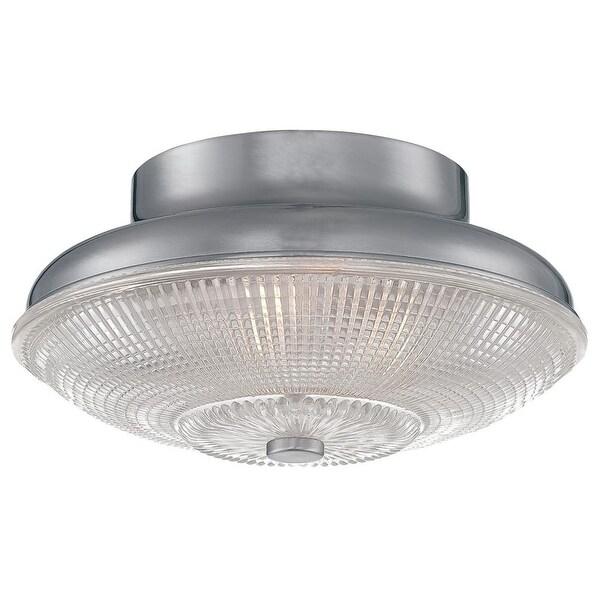 Millennium Lighting 5332 Prismatic 1-Light Flush Mount Ceiling Fixture - n/a