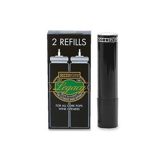 Cork Pops Refill Cartridges, 4-Pack