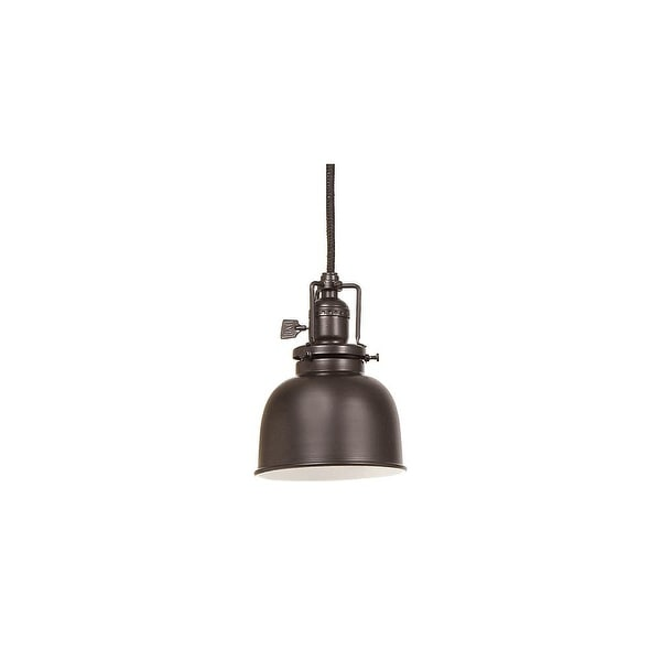 JVI Designs 1200-08 m2 1 light Down Light Pendant from the Union Square collection - Oil Rubbed bronze