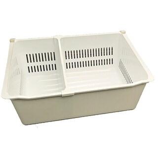 NEW OEM LG Freezer Drawer Tray Shipped With LFX28979ST, LFX28979ST (01)