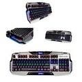 Mazer Black Backlit Aluminum Mechanical Keyboard EKM729 for PC/ Desktop Computer - Thumbnail 0