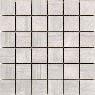 Emser Tile A40HANG1212MO2  Hangar - Square Mosaic Wall Tile - Smooth Concrete Visual