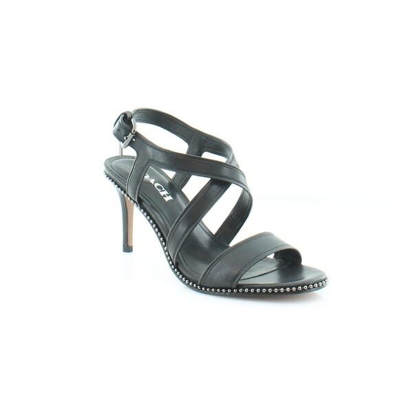 Coach Wendi Women's Sandals & Flip Flops Black - 7