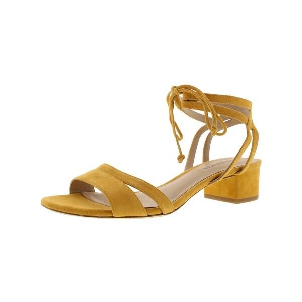 Via Spiga Womens Taryn Dress Sandals Suede Strappy