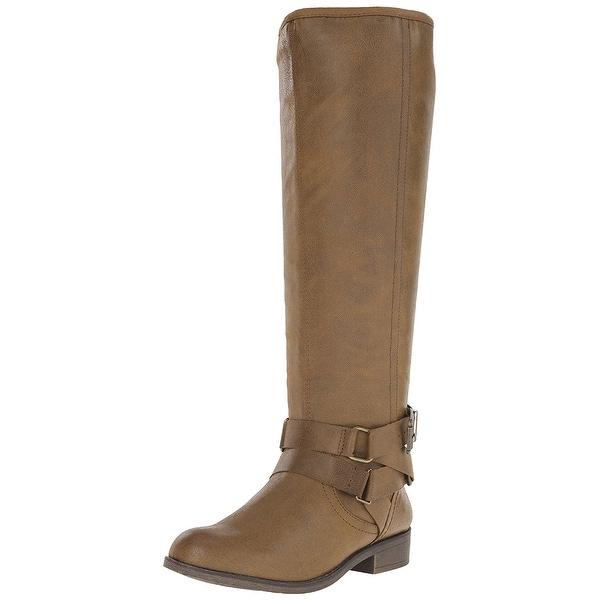 Madden Girl Womens CORPOREL Closed Toe Knee High Fashion Boots