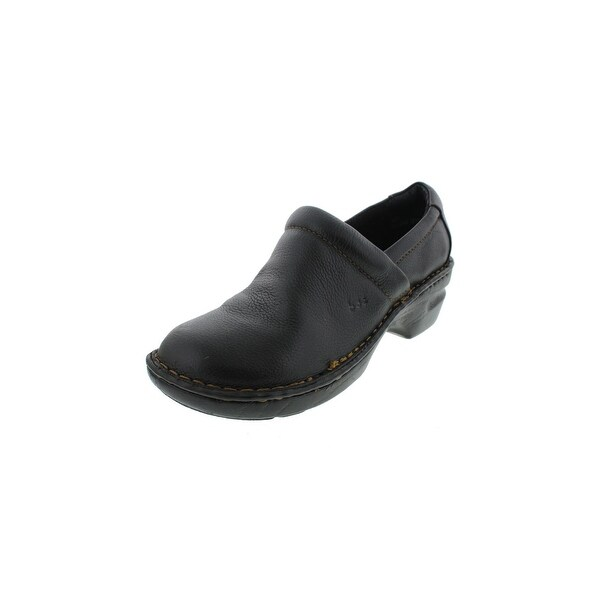 2f618cc531c0 Shop B.O.C. Born Concepts Womens Peggy Clogs Leather Heels - Free ...
