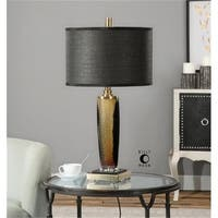 Uttermost 26602-1 Circello Textured Glass Table Lamp
