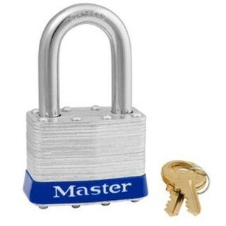 "Master Lock 1KA 2001 Laminated Keyed Alike Padlock, 1-3/4"""