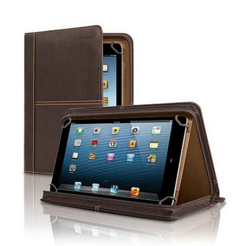 Solo Premiere Leather Universal Tablet Case, Espresso Premiere Leather Universal Tablet Case, Espresso