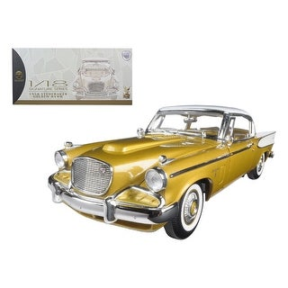 Link to 1958 Studebaker Golden Hawk Gold 1/18 Diecast Model Car by Road Signature Similar Items in Stuffed Toys