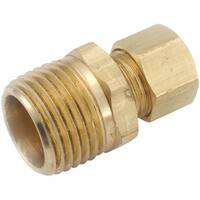 Anderson Metals Corp Inc 1/2X3/8 Male Connector 750068-0806 Unit: EACH Contains 5 per case