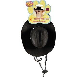 Rubie's Black Cowboy Hat-Medium-Large