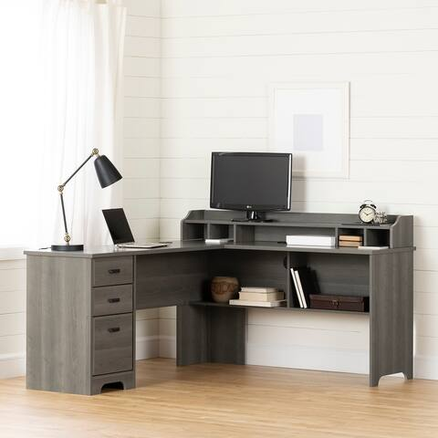 South Shore Versa L-Shaped Desk