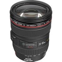 Canon EF 24-105mm f/4L IS USM Lens (Certified Refurbished) - Black