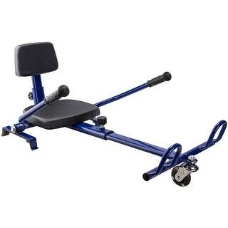 MotoTec Hoverboard Go Kart Attachment Blue