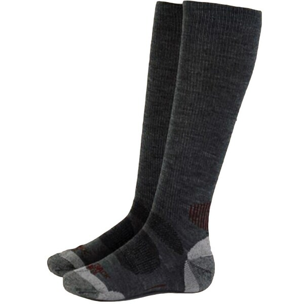Outback Trading Socks Men River Hills Ribbed Wool One Size - One size