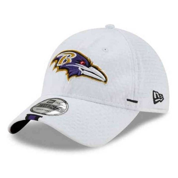 d070cde81ca Shop New Era 2019 NFL Baltimore Ravens Training Camp Hat Cap Adjustable  9Twenty White - Free Shipping On Orders Over $45 - Overstock - 28436741