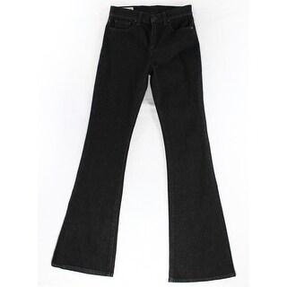 Lauren Ralph Lauren NEW Black Women's Size 27X33 High Rise Flare Jeans