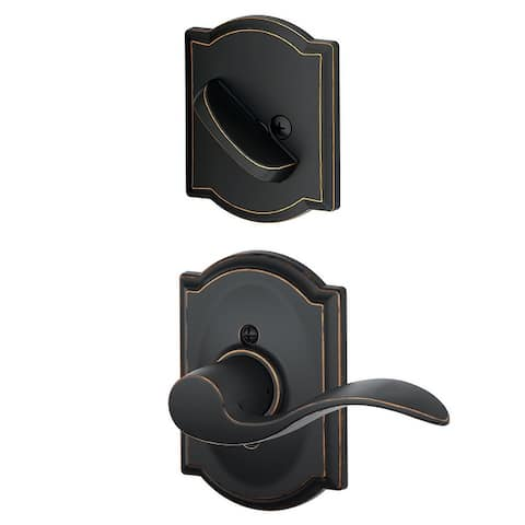 Schlage F59-ACC-CAM-LH Accent Left Handed Single Cylinder Interior