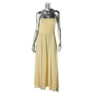 Lauren Ralph Lauren Womens Georgette Chiffon Evening Dress - 2