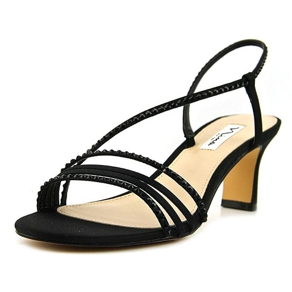 Nina Womens Gerri Open Toe Formal Slingback Sandals