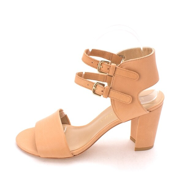 Stuart Weitzman Open Toe Leather Ankle-Strap Sandals ehZrKb