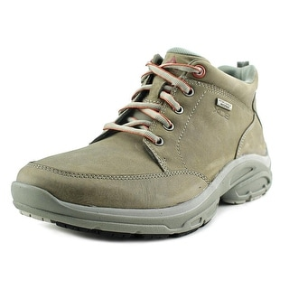 Rockport WEA ADV MDGD Boot Men W Round Toe Suede Gray Hiking Boot