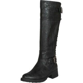 Wanted Shoes Women's Ballard Knee-High Boot - Camel - 6 b(m) us