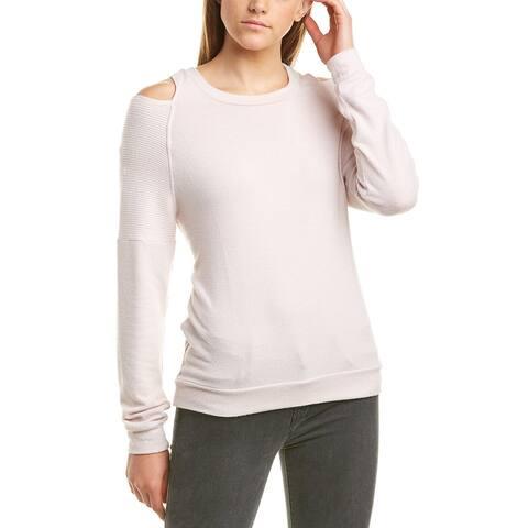 Michael Stars Cold-Shoulder Sweatshirt