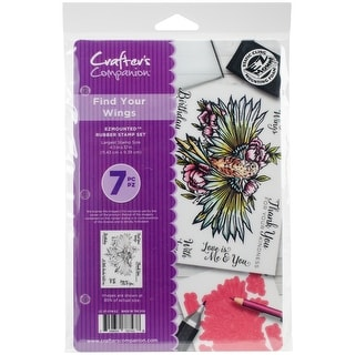 Crafter's Companion Ezmounted Stamp Set-Find Your Wings