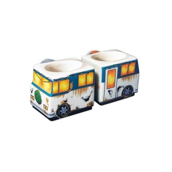 Set of 2 National Lampoon's Christmas Vacation RV Molded Mugs 9 oz. - WHITE