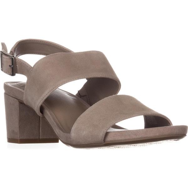 GB35 Maggiee Slingback Mule Sandals, Mushroom