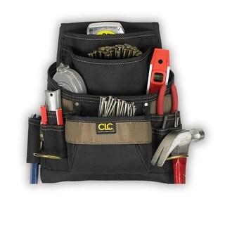 CLC 1620 ToolWorks Nail & Tool Bag, 11 Pockets