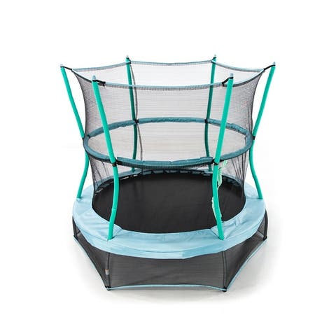 "Skywalker Trampolines 60"" Round Classic Mini Bouncer with Enclosure"