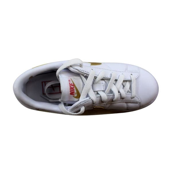 lowest price b1013 4f268 ... Nike Womens Tennis Classic WhiteMetallic Gold-Desert nan 312498-171  Size ...
