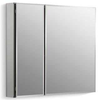 """Kohler K-CB-CLC3026FS 30"""" x 26"""" Double Door Reversible Hinge Frameless Mirrored Medicine Cabinet - N/A"""