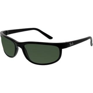Ray-Ban Men's Predator 2 RB2027-W1847-62 Black Rectangle Sunglasses