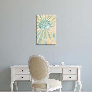 Easy Art Prints 'Hello Sunshine II' Premium Canvas Art