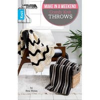 Leisure Arts-Comfy Knit Throws