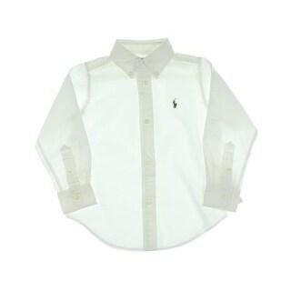 Polo Ralph Lauren Toddler Oxford Button-Down Shirt - 4/4t