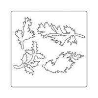 Holiday Greens - Sizzix Thinlits Dies 4/Pkg By Tim Holtz