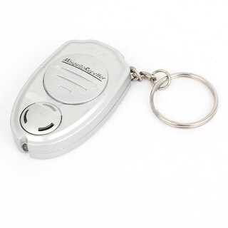 Unique Bargains Keychain Ultrasonic Sonic Mosquito Insects Repeller Gray