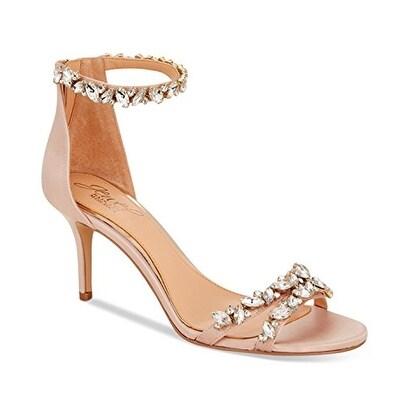JEWEL By Badgley Mischka Caroline Ankle-Strap Evening Sandals