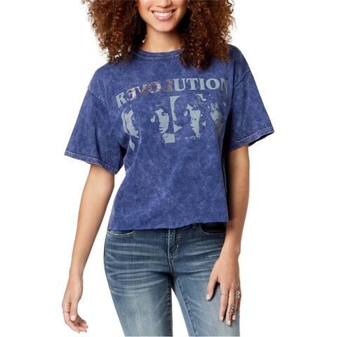 True Vintage Womens Revolution Graphic T-Shirt