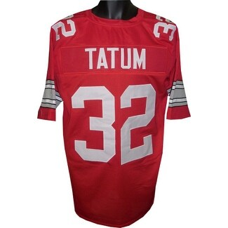 f92d00173 Shop Jack Tatum unsigned Red TB Custom Stitched Football Jersey XL - Free  Shipping Today - Overstock - 19873416