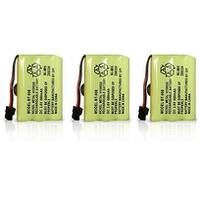 Replacement Battery for Uniden TRU9260 / TRU9360 Phone Models (3 Pack)