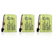 Replacement Battery for Uniden TRU9380 / TCX930 Phone Models (3 Pack)