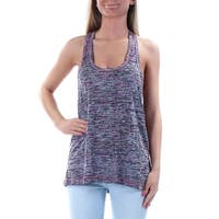 IDEOLOGY Womens Pink Printed Sleeveless Scoop Neck Weekend Top  Size: XS